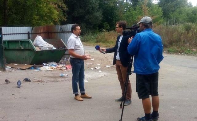Благотворительный фонд «Эра добра» провел экологический рейд на ул. Ульяновская