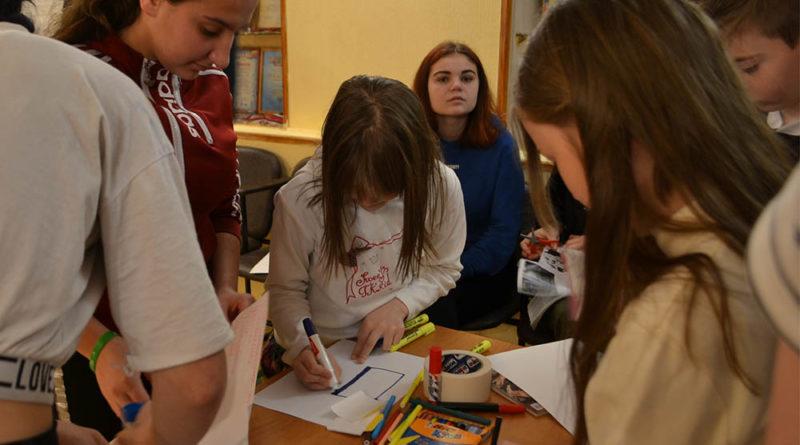 Занятия по профориентации для воспитанников Спасского детского дома